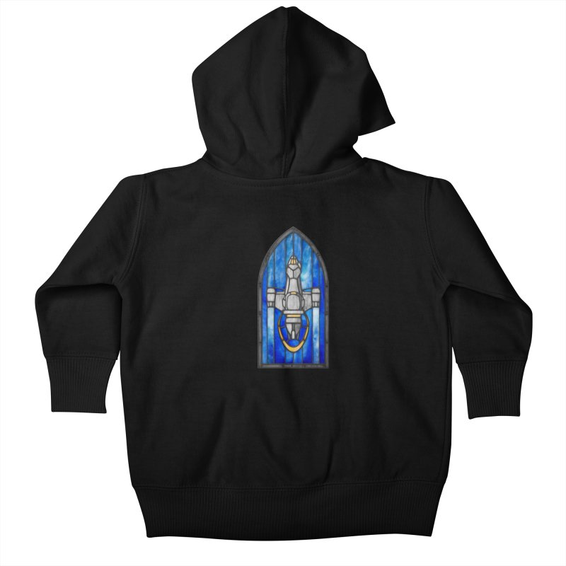 Stained Glass Series - Serenity Kids Baby Zip-Up Hoody by Ian Leino @ Threadless