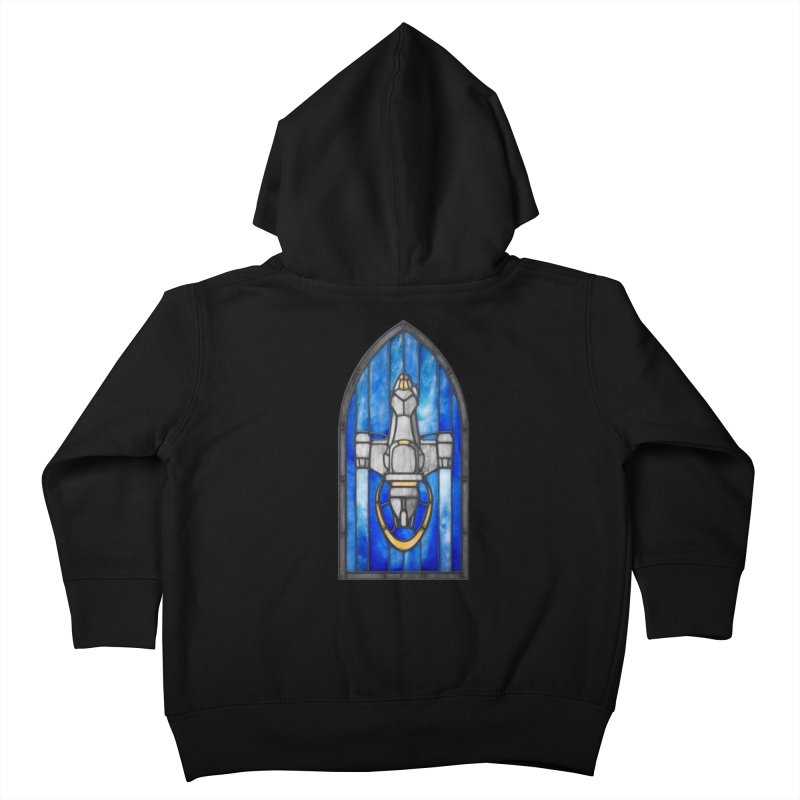Stained Glass Series - Serenity Kids Toddler Zip-Up Hoody by Ian Leino @ Threadless