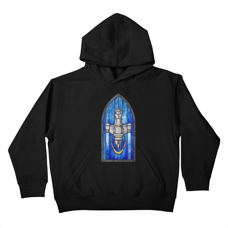 Stained Glass Series - Serenity Kids Pullover Hoody by Ian Leino @ Threadless