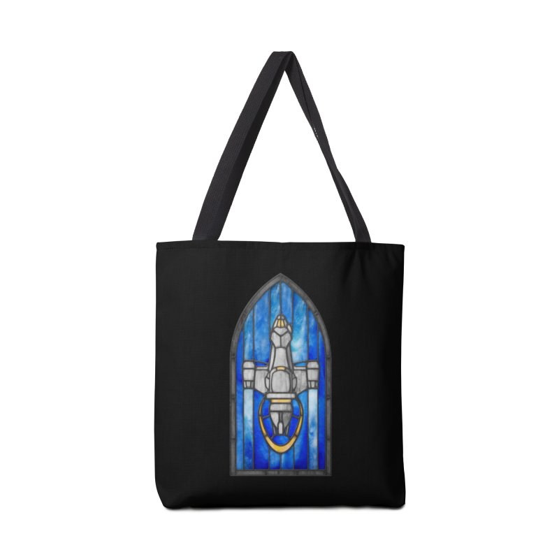 Stained Glass Series - Serenity Accessories Bag by Ian Leino @ Threadless