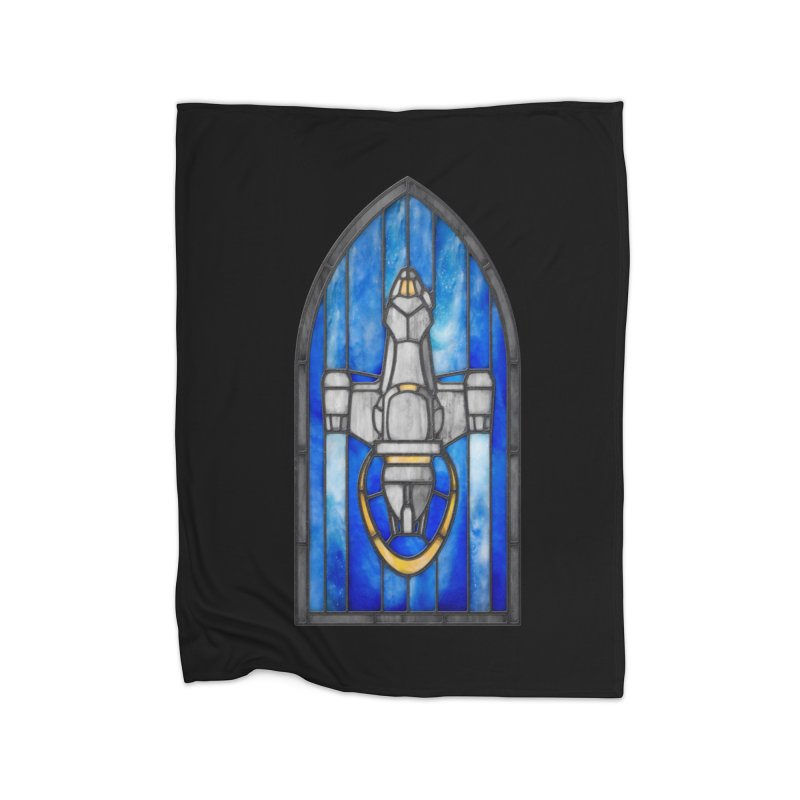 Stained Glass Series - Serenity Home Blanket by Ian Leino @ Threadless