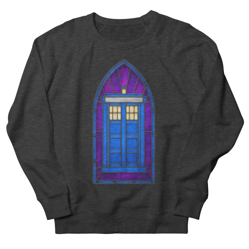 Stained Glass Series - TARDIS Women's Sweatshirt by Ian Leino @ Threadless