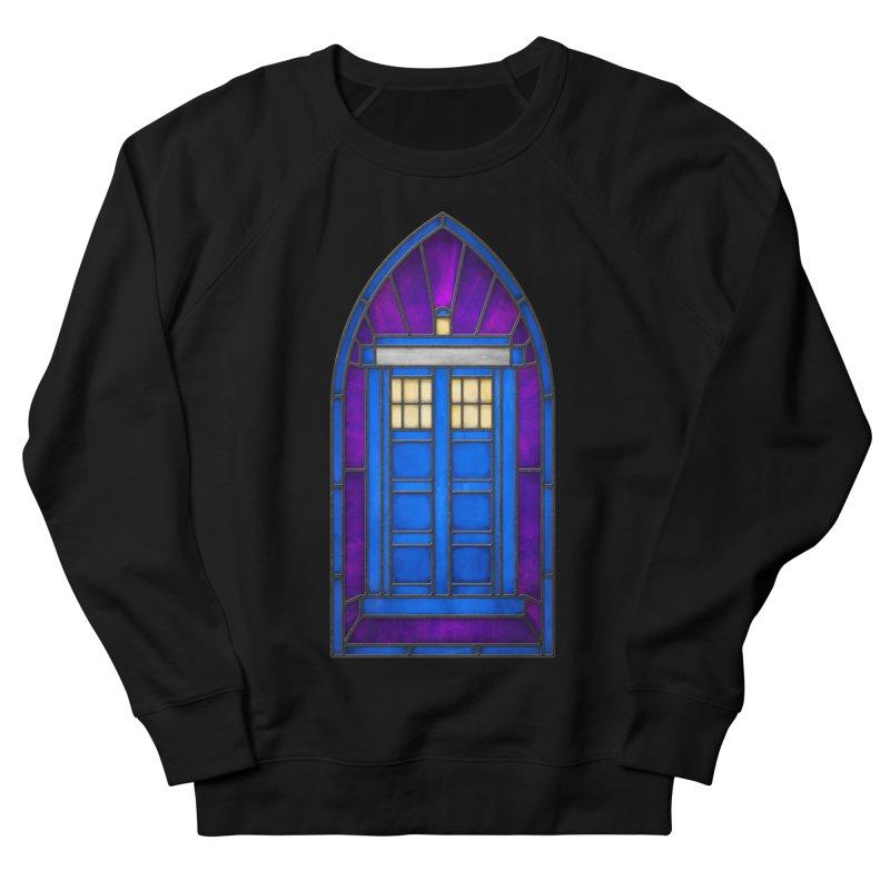 Stained Glass Series - TARDIS Women's Sweatshirt by Ian Leino @ Threadless