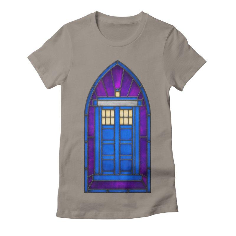 Stained Glass Series - TARDIS Women's T-Shirt by Ian Leino @ Threadless