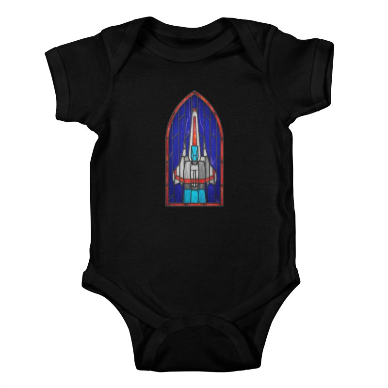 Stained Glass Series - Viper Kids Baby Bodysuit by Ian Leino @ Threadless