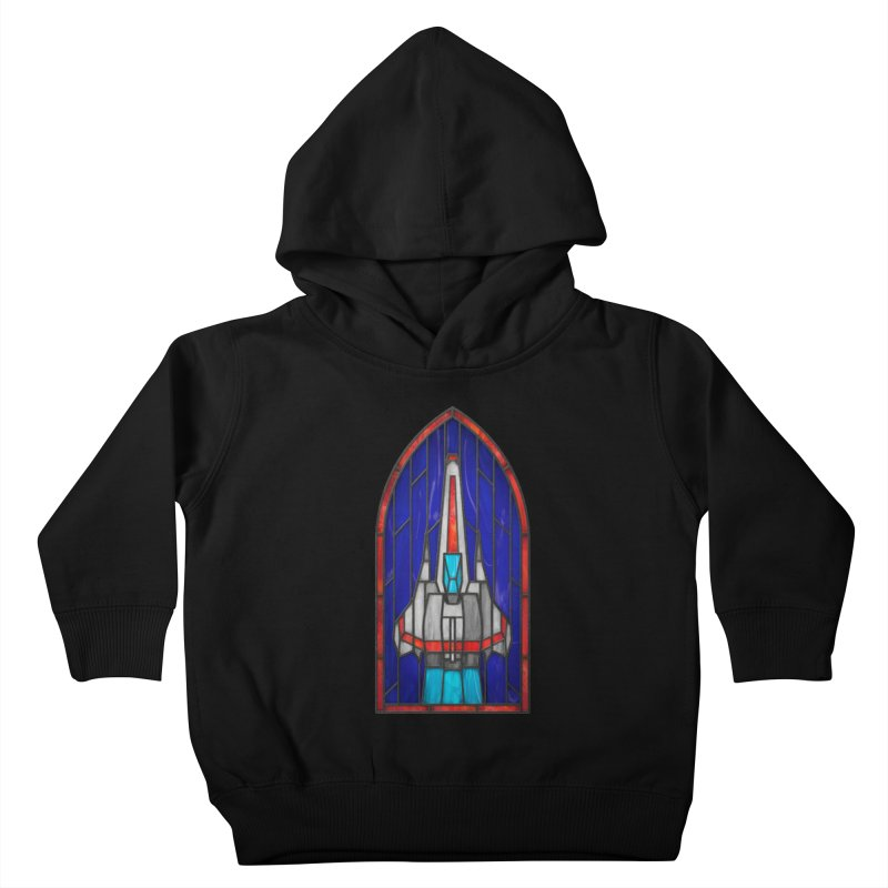 Stained Glass Series - Viper Kids Toddler Pullover Hoody by Ian Leino @ Threadless