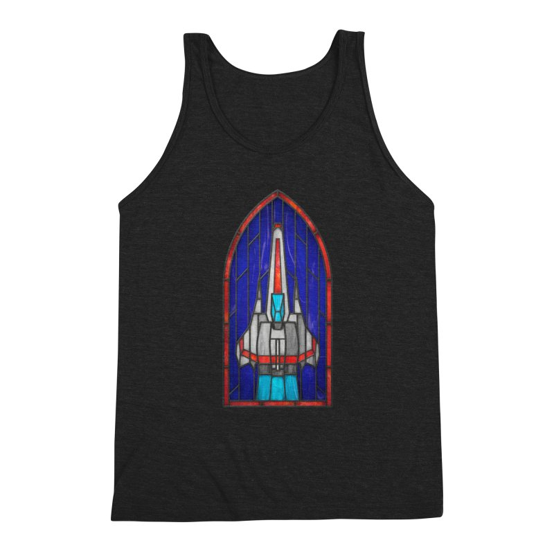 Stained Glass Series - Viper Men's Triblend Tank by Ian Leino @ Threadless