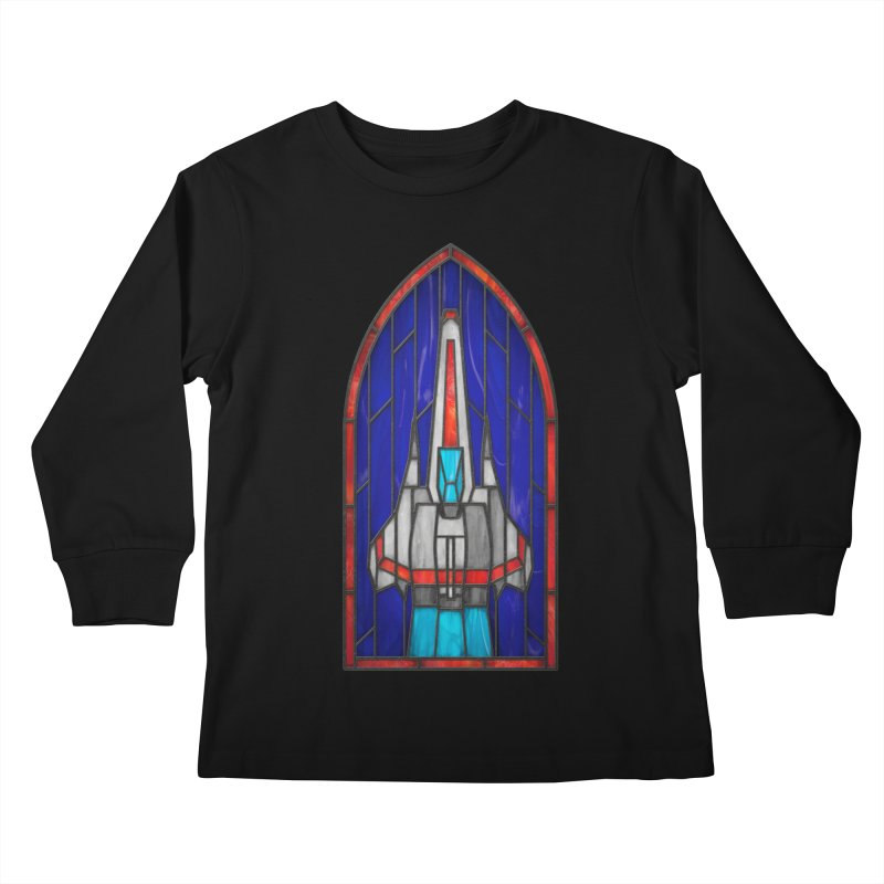 Stained Glass Series - Viper Kids Longsleeve T-Shirt by Ian Leino @ Threadless