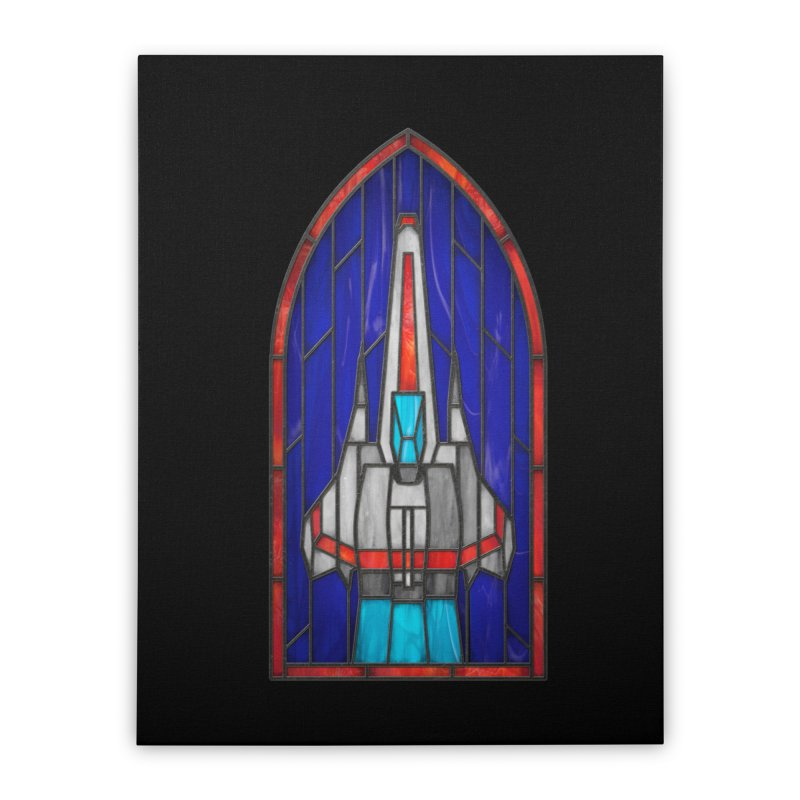 Stained Glass Series - Viper Home Stretched Canvas by Ian Leino @ Threadless