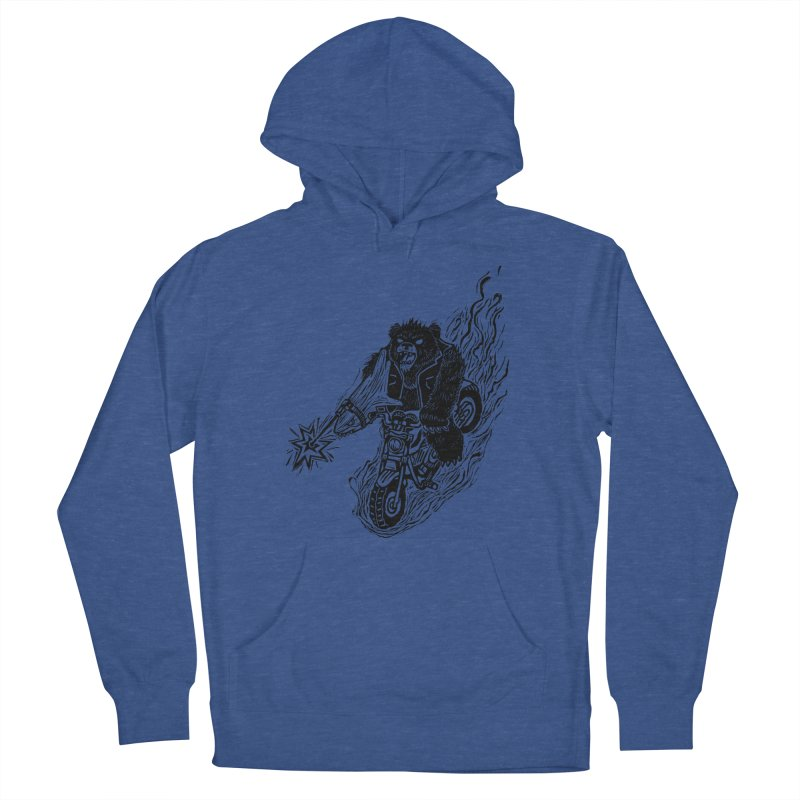 The Most Dangerous Animal in the World Men's Pullover Hoody by Ian Leino @ Threadless