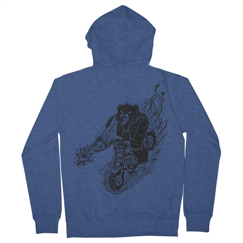 The Most Dangerous Animal in the World Men's Zip-Up Hoody by Ian Leino @ Threadless
