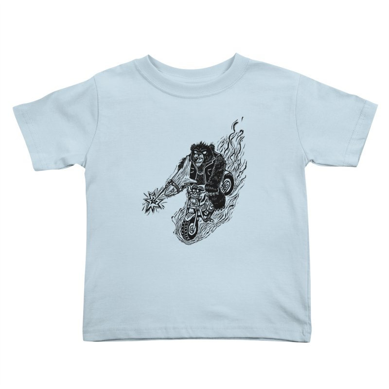 The Most Dangerous Animal in the World   by Ian Leino @ Threadless