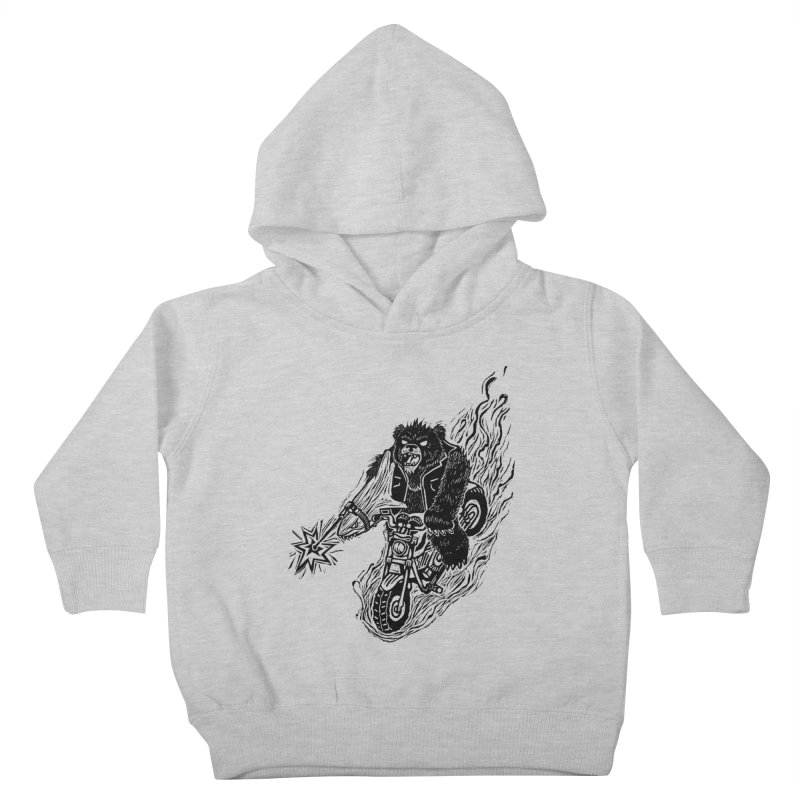 The Most Dangerous Animal in the World Kids Toddler Pullover Hoody by Ian Leino @ Threadless