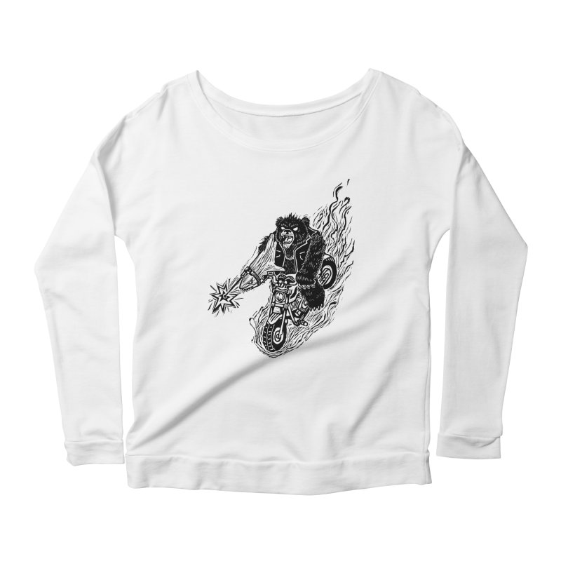 The Most Dangerous Animal in the World Women's Scoop Neck Longsleeve T-Shirt by Ian Leino @ Threadless