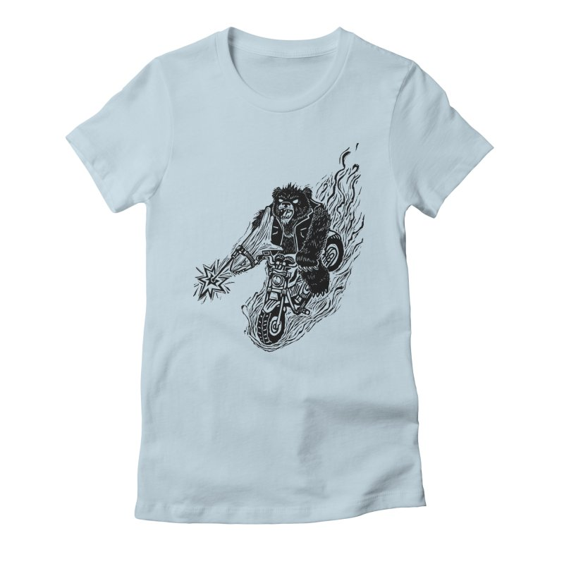 The Most Dangerous Animal in the World Women's T-Shirt by Ian Leino @ Threadless