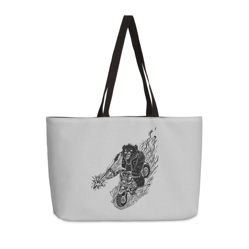 The Most Dangerous Animal in the World Accessories Bag by Ian Leino @ Threadless