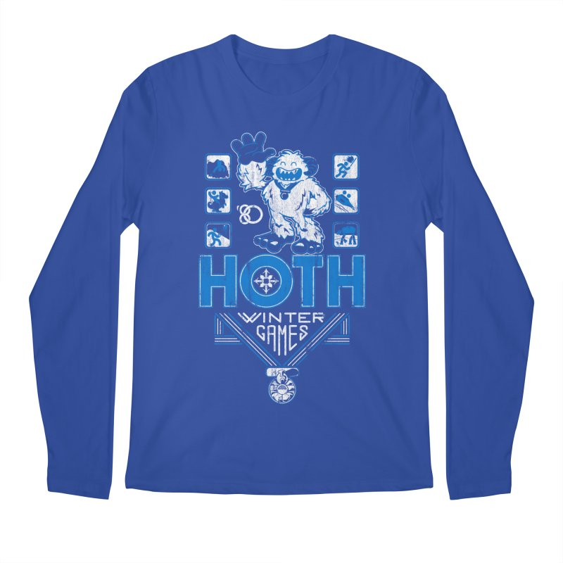 Hoth Winter Games Men's Longsleeve T-Shirt by Ian Leino @ Threadless