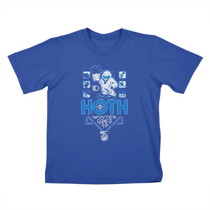 Hoth Winter Games Kids T-shirt by Ian Leino @ Threadless
