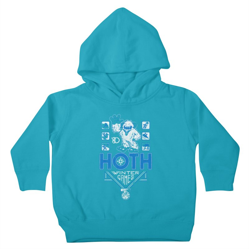 Hoth Winter Games Kids Toddler Pullover Hoody by Ian Leino @ Threadless