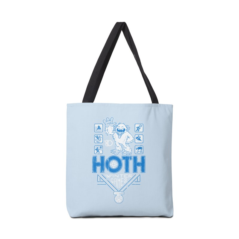 Hoth Winter Games Accessories Bag by Ian Leino @ Threadless