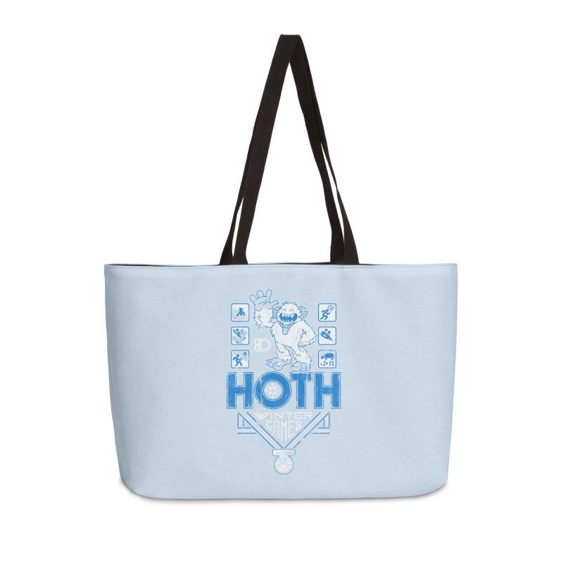 Hoth Winter Games Accessories Bag by Ian Leino @ Threadless
