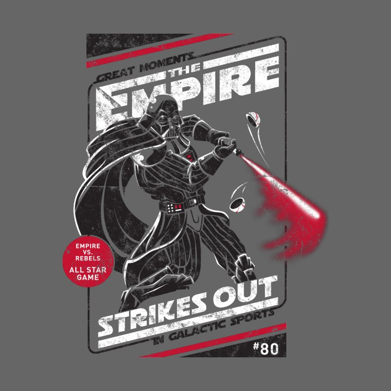 The Empire Strikes Out Kids Toddler Zip-Up Hoody by Ian Leino @ Threadless