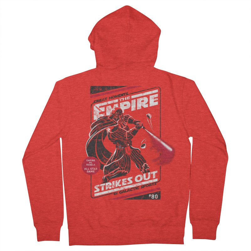 The Empire Strikes Out Women's Zip-Up Hoody by Ian Leino @ Threadless