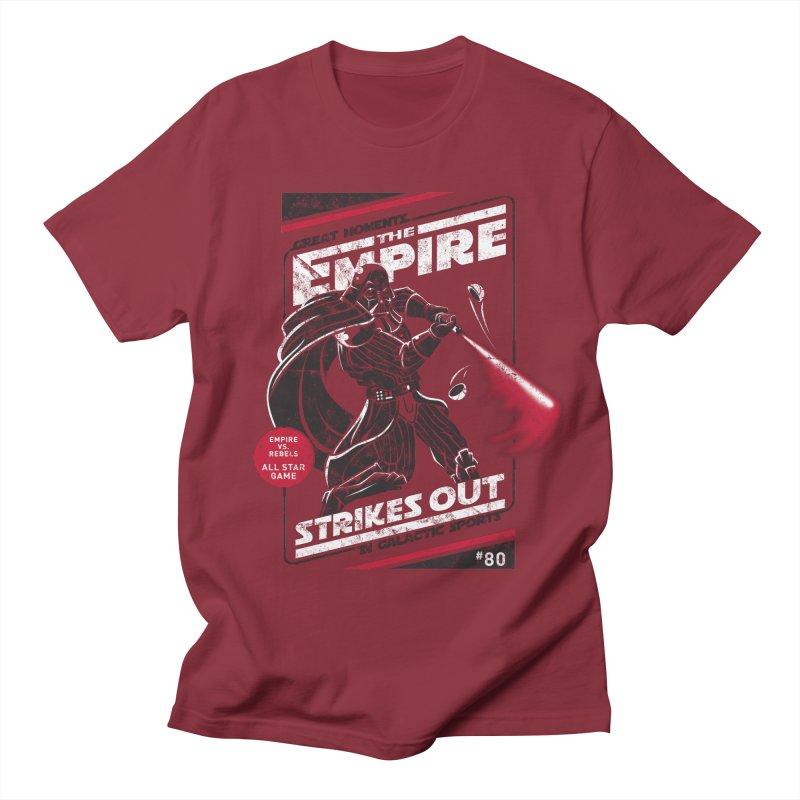 The Empire Strikes Out Men's T-Shirt by Ian Leino @ Threadless