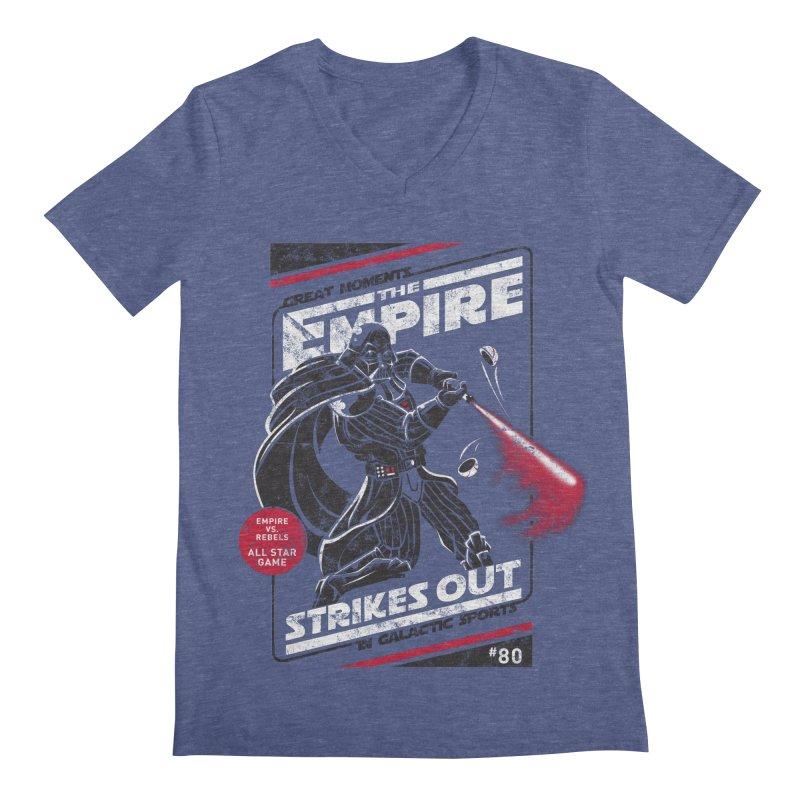 The Empire Strikes Out Men's V-Neck by Ian Leino @ Threadless