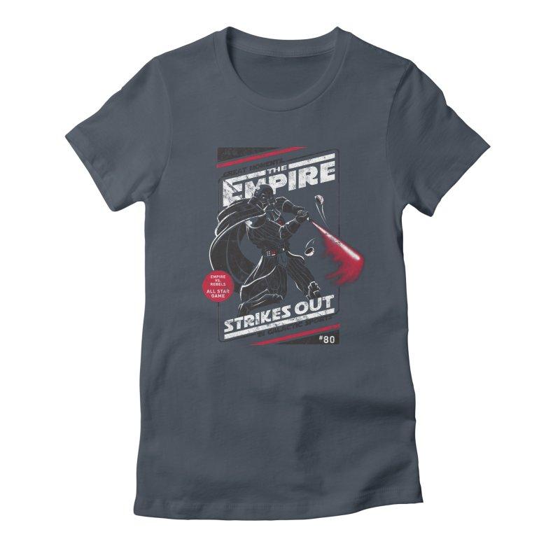 The Empire Strikes Out Women's T-Shirt by Ian Leino @ Threadless