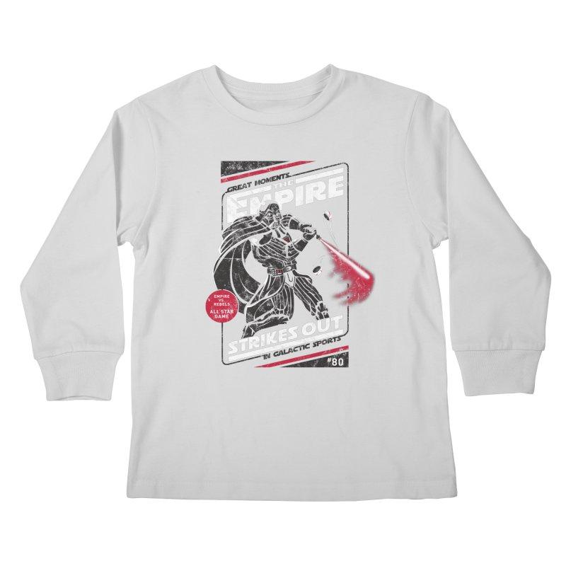 The Empire Strikes Out Kids Longsleeve T-Shirt by Ian Leino @ Threadless