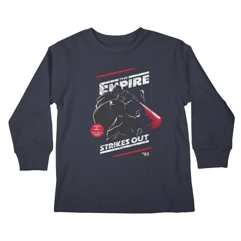 The Empire Strikes Out Kids Longsleeve T-Shirt by Ian Leino @ Threadless