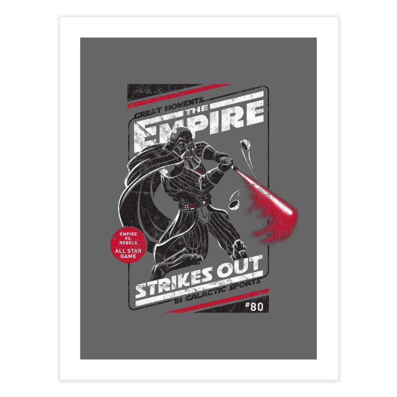 The Empire Strikes Out Home Fine Art Print by Ian Leino @ Threadless