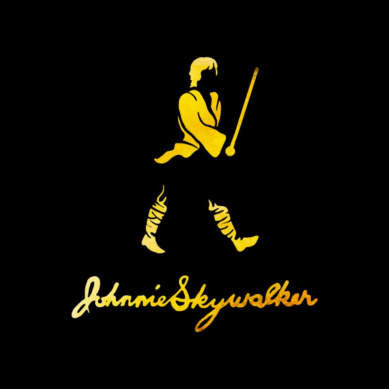 Johnnie Skywalker Women's Longsleeve T-Shirt by Ian Leino @ Threadless