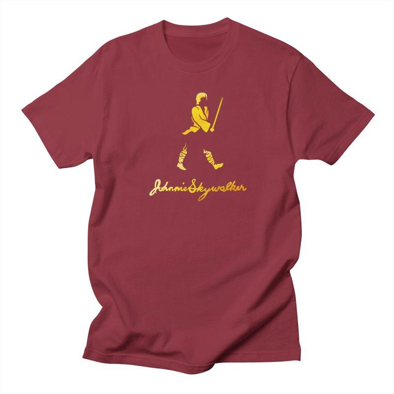 Johnnie Skywalker Men's T-shirt by Ian Leino @ Threadless