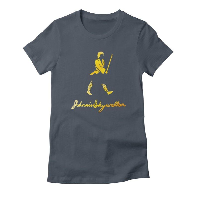 Johnnie Skywalker Women's T-Shirt by Ian Leino @ Threadless