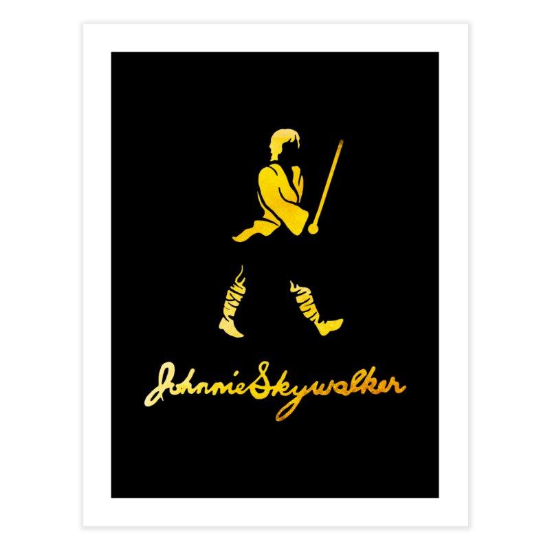 Johnnie Skywalker Home Fine Art Print by Ian Leino @ Threadless