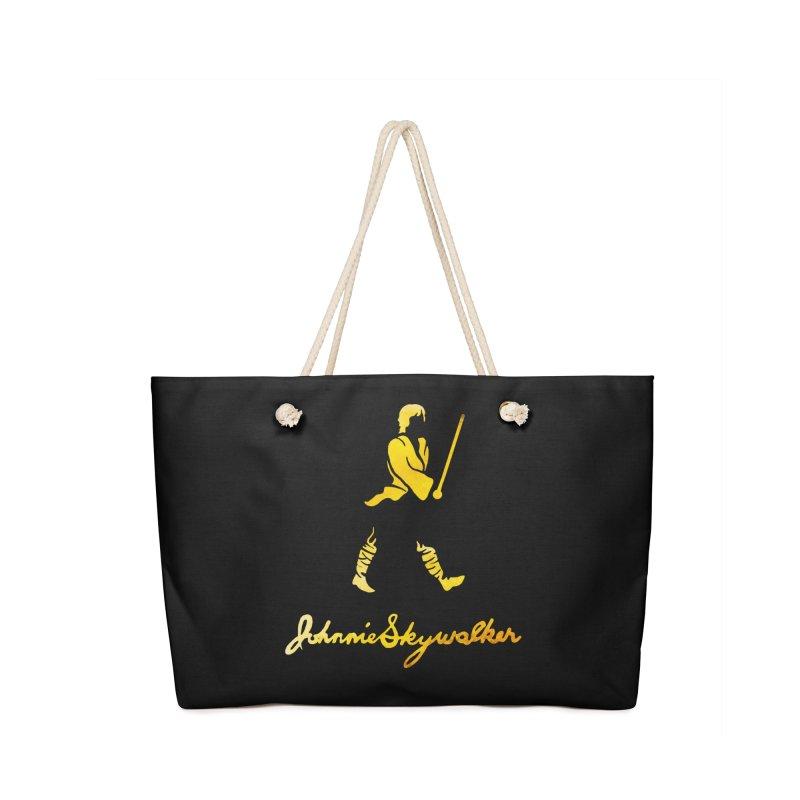 Johnnie Skywalker Accessories Bag by Ian Leino @ Threadless