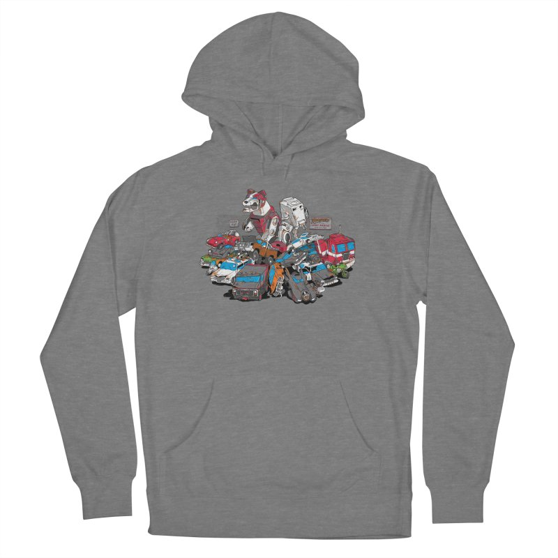 Raiders of the Lost Parts Women's Pullover Hoody by Ian Leino @ Threadless