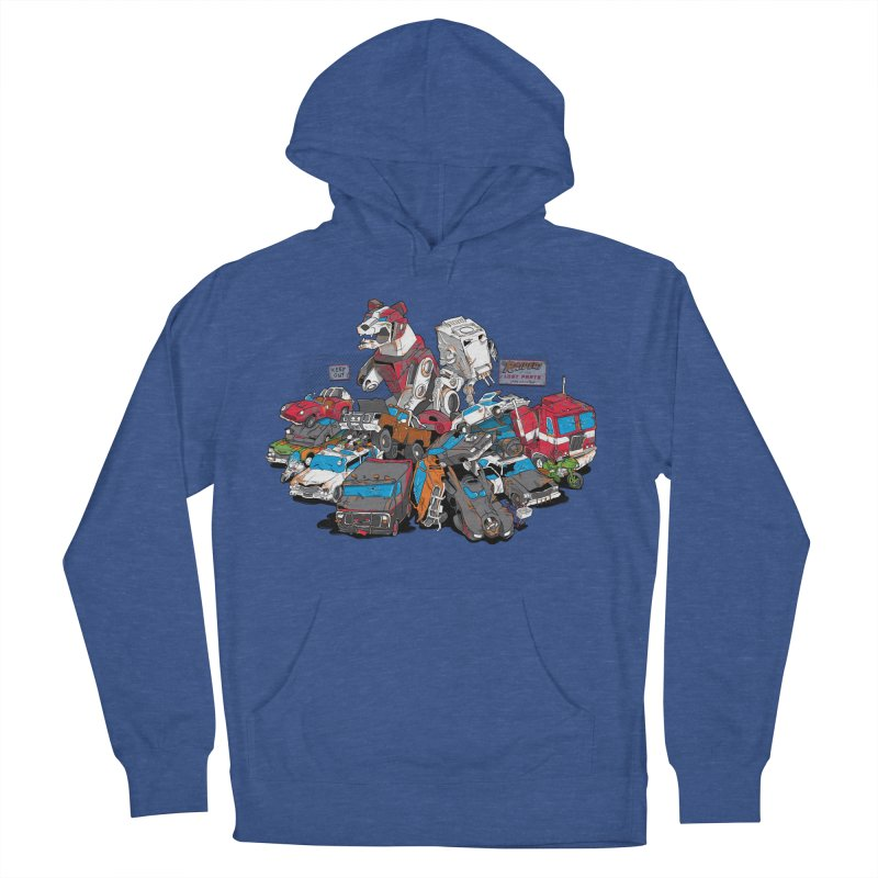 Raiders of the Lost Parts Women's French Terry Pullover Hoody by Ian Leino @ Threadless