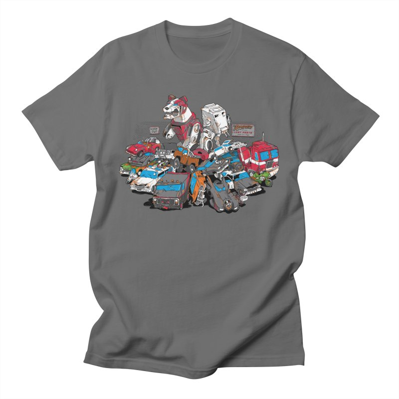 Raiders of the Lost Parts Men's T-Shirt by Ian Leino @ Threadless