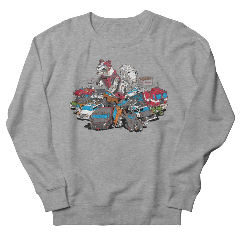 Raiders of the Lost Parts Women's French Terry Sweatshirt by Ian Leino @ Threadless