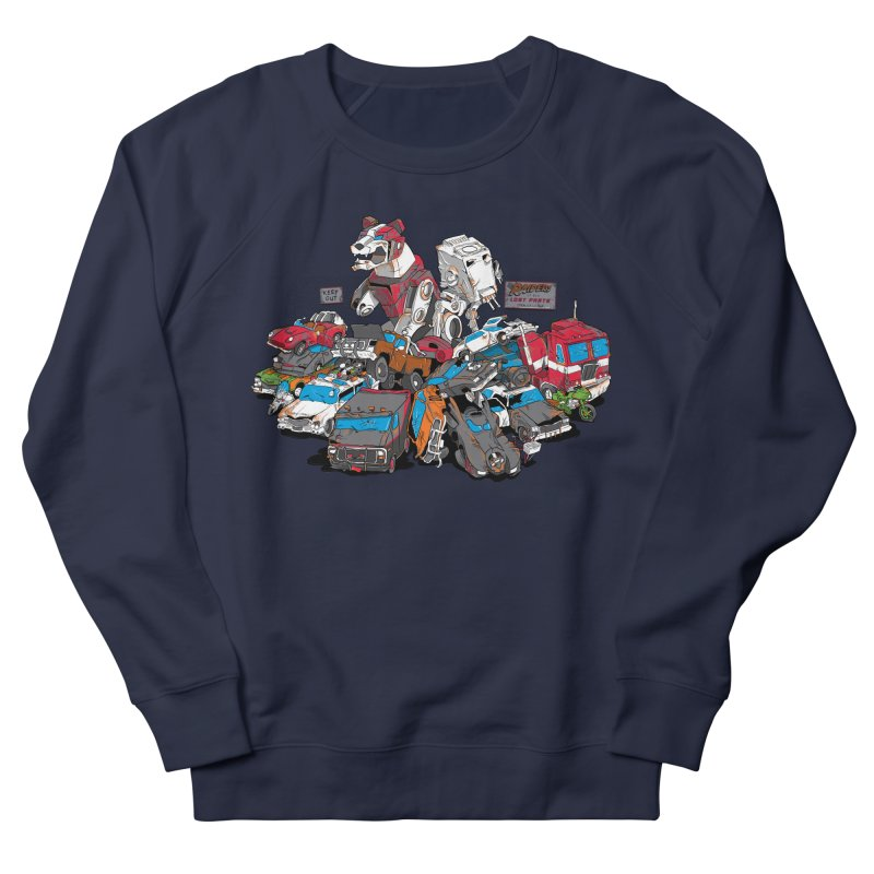 Raiders of the Lost Parts Women's Sweatshirt by Ian Leino @ Threadless