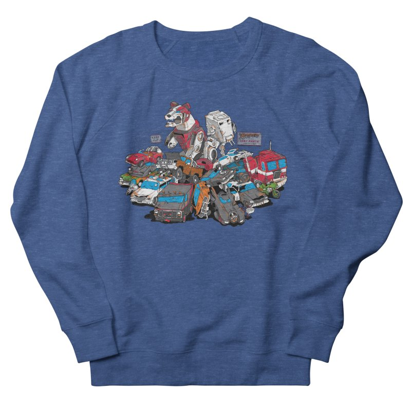 Raiders of the Lost Parts Men's French Terry Sweatshirt by Ian Leino @ Threadless