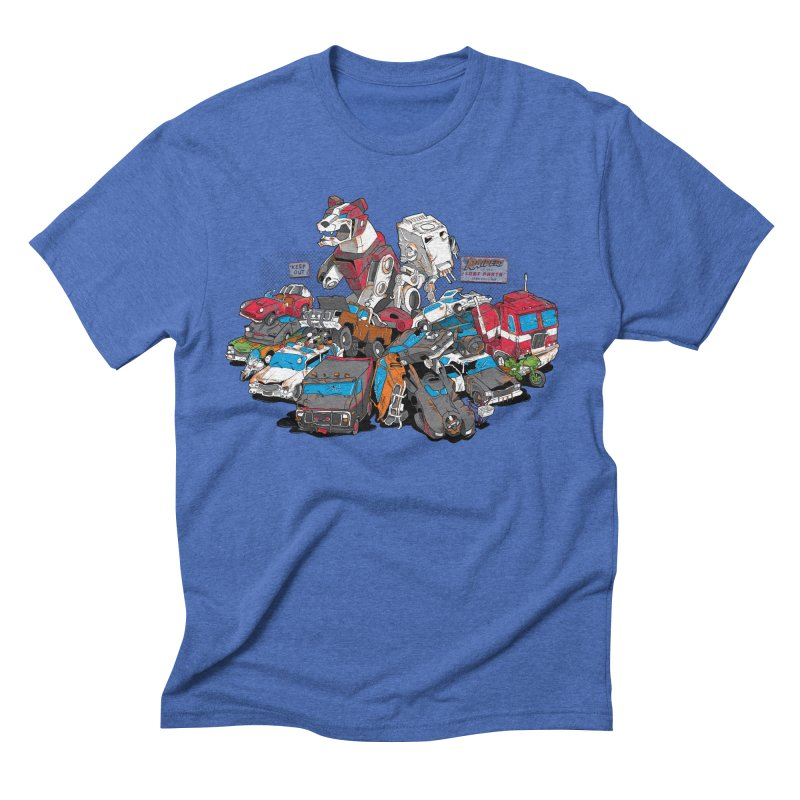 Raiders of the Lost Parts Men's Triblend T-Shirt by Ian Leino @ Threadless