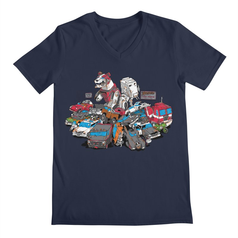 Raiders of the Lost Parts   by Ian Leino @ Threadless