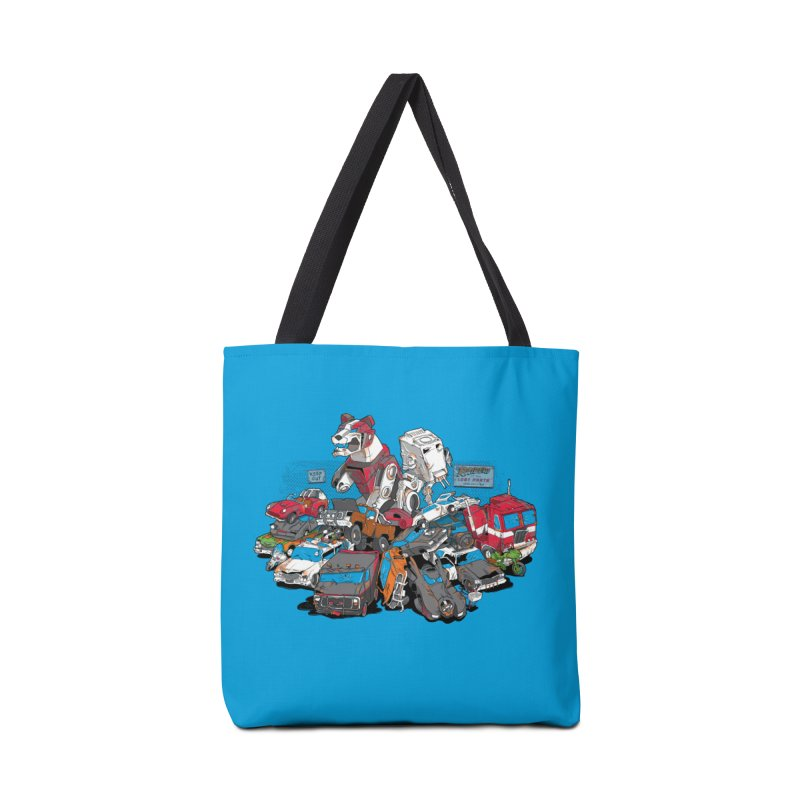 Raiders of the Lost Parts Accessories Tote Bag Bag by Ian Leino @ Threadless