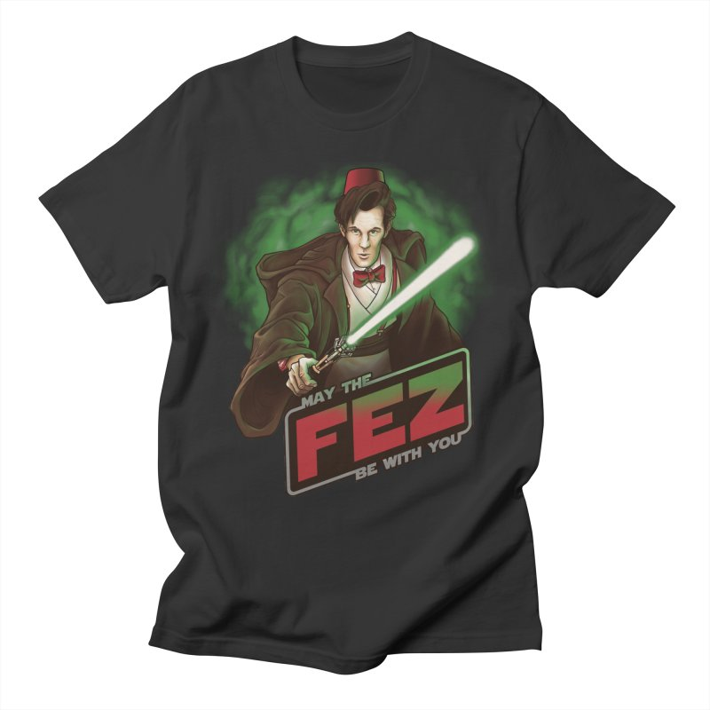 May the Fez be With You Men's T-Shirt by Ian Leino @ Threadless