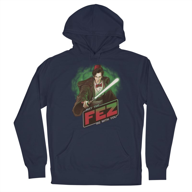 May the Fez be With You Men's Pullover Hoody by Ian Leino @ Threadless