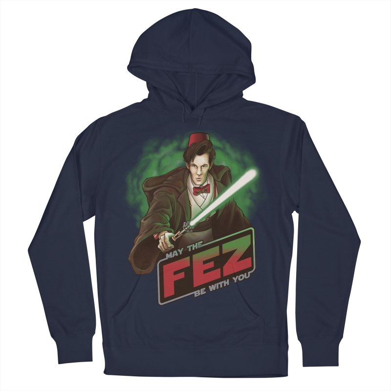 May the Fez be With You Men's French Terry Pullover Hoody by Ian Leino @ Threadless